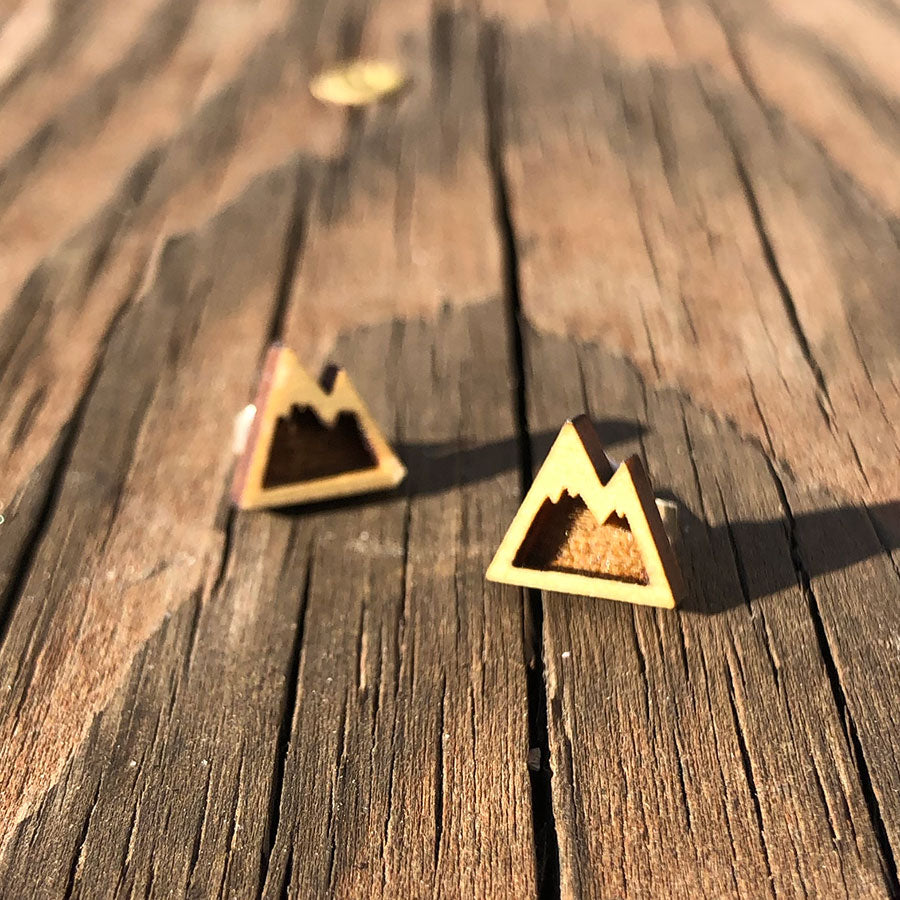 Wood Mountain Earrings