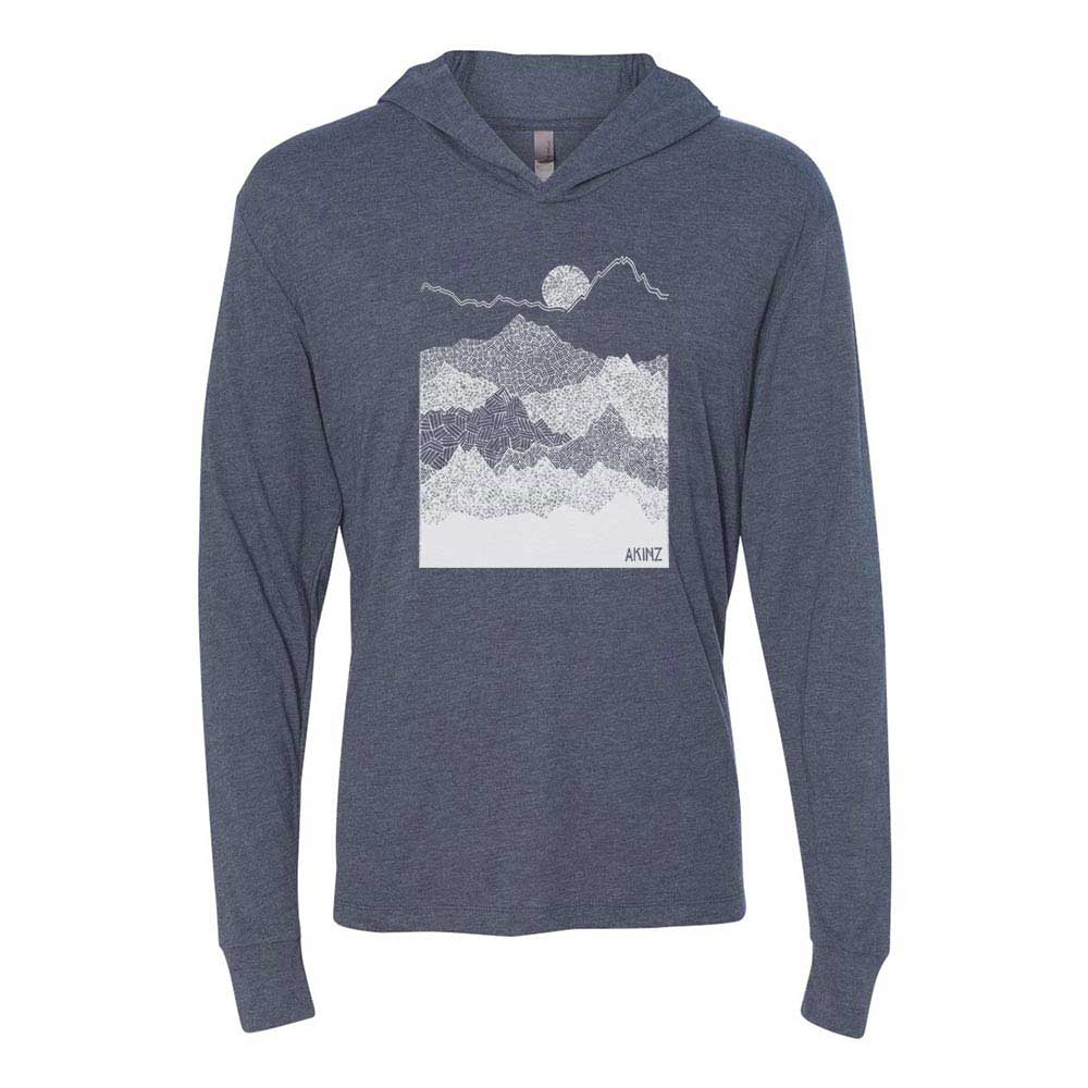 Ascend Mountains Lightweight Pullover - Indigo Blue