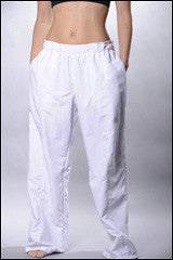 Front seam baggy sports pants