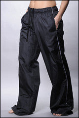 Side piping sports pants