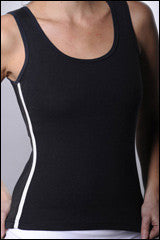 Bra friendly tank vest