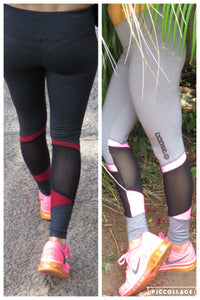 AR 1422-Guaze Inset Tights