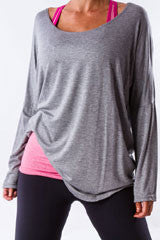 dolman long sleeve T shirt