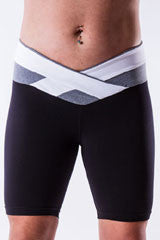 colourblock x-cross shorts