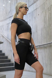 AR 204 - CAP SLEEVE CROP
