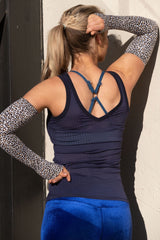 AR 1820 - Imported Mesh Fitted Vest