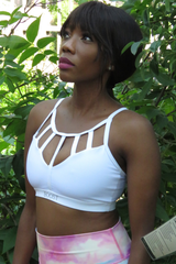 AR 1930 - Sexy Strap Crop Top