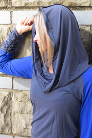 AR 1694 - Long Sleeve Hooded T-shirt (