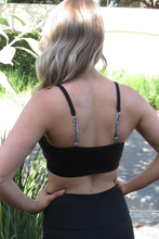 Load image into Gallery viewer, AR 1855 - PADDED STRAPPY CROP TOP
