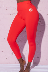 AR 2116 - VALENTINES RED 7/8 TIGHTS PROMO
