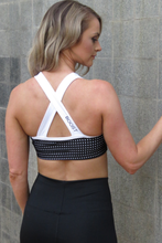 Load image into Gallery viewer, AR 1901 - BANDED MESH CROP TOP