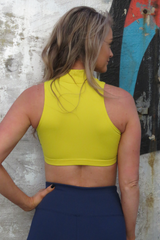AR 1973 - COLLARED CROP TOP