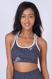 AR 1804 - B23 Printed Crop Top