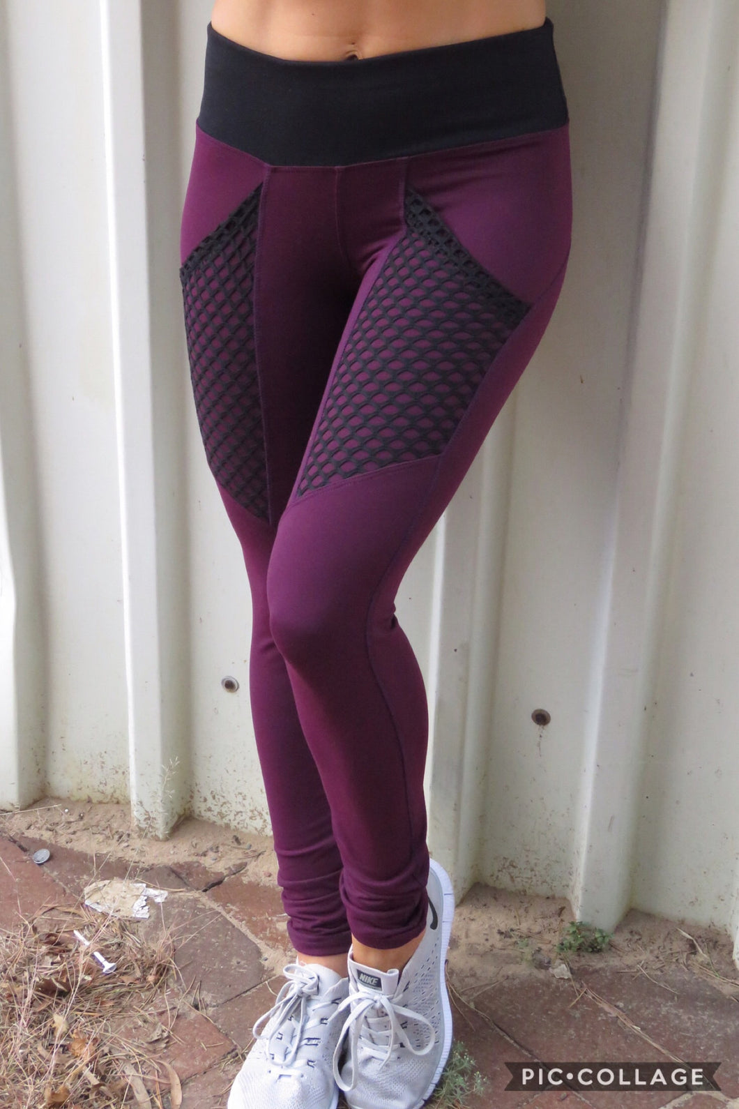 AR 1622 - River Lace Pocket Long Tights