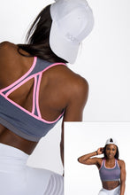 Load image into Gallery viewer, AR 1690 - Bodice Sports Mesh Crop Top