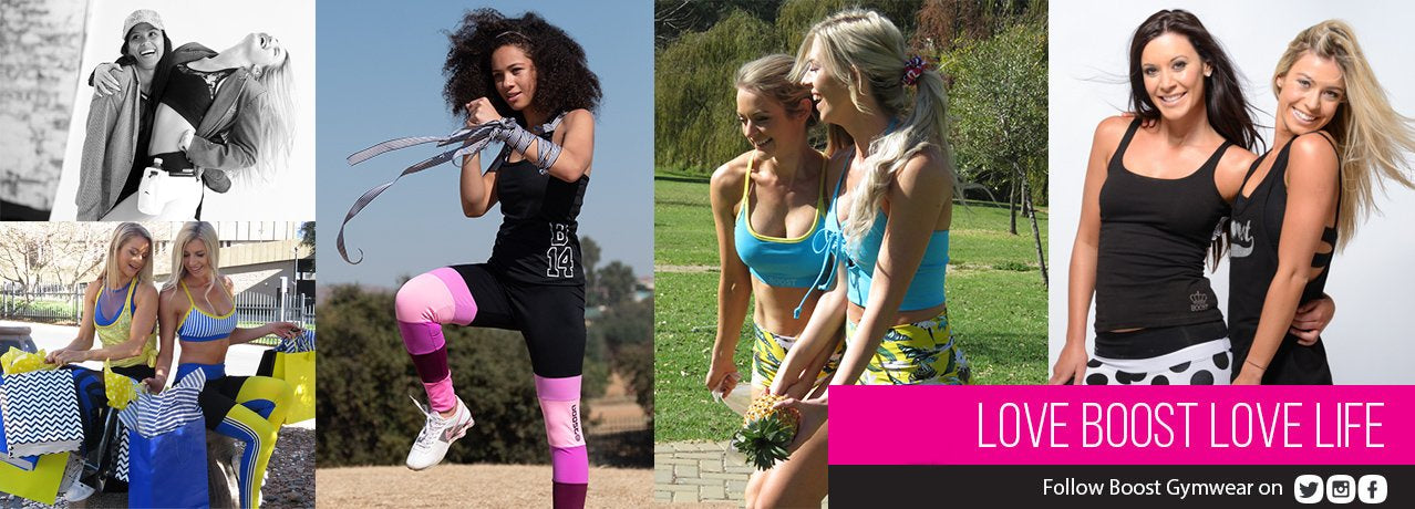 Boost Gymwear - Fitness Clothes, Apparel, Sportswear, Workout Clothing