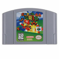 Super Mario 64 Nintendo 64 cartridge Great Fun!