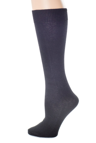 Delp Stockings Children's Cotton, Black color side picture detail