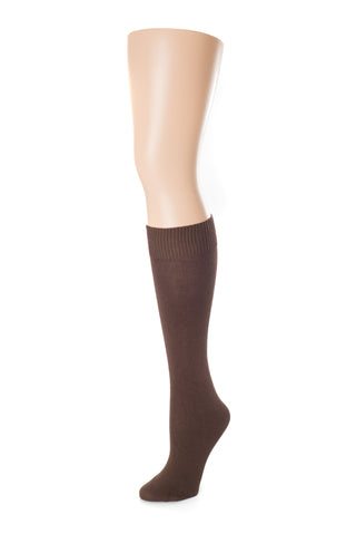 Delp Stockings Children's Cotton, Brown color side picture