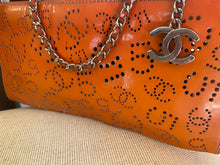 Load image into Gallery viewer, Chanel Mini Orange Clutch