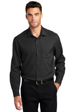 Load image into Gallery viewer, Port Authority Long Sleeve Performance Staff Shirt