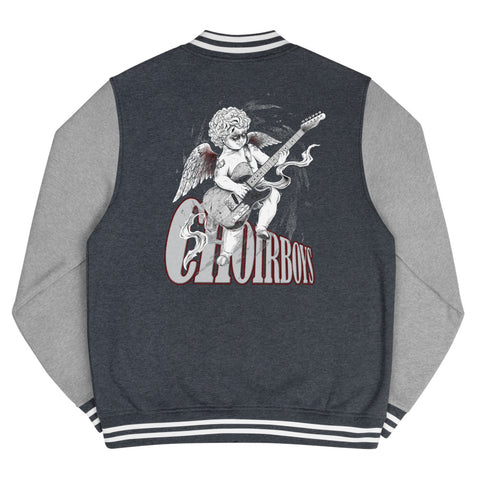 Cherrub Rock Men's Letterman Jacket