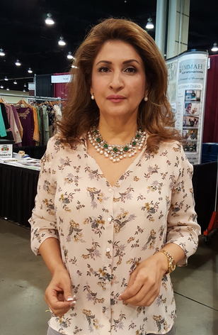 Mina Hassan With BGJewels