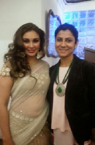 Lisa Ray With BGJewels Founder Bhavna Gupta