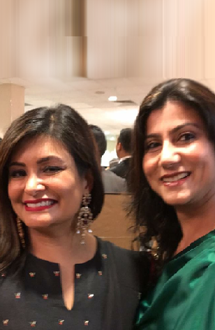 Joya Dass With BGJewels Founder Bhavna Gupta