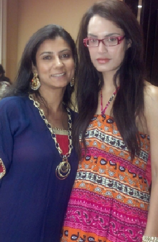 Nadia Hussain With BGJewels