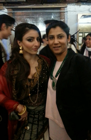 Soha Ali Khan With BGJewels