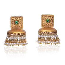 Load image into Gallery viewer, Light Weight Antique Jhumki
