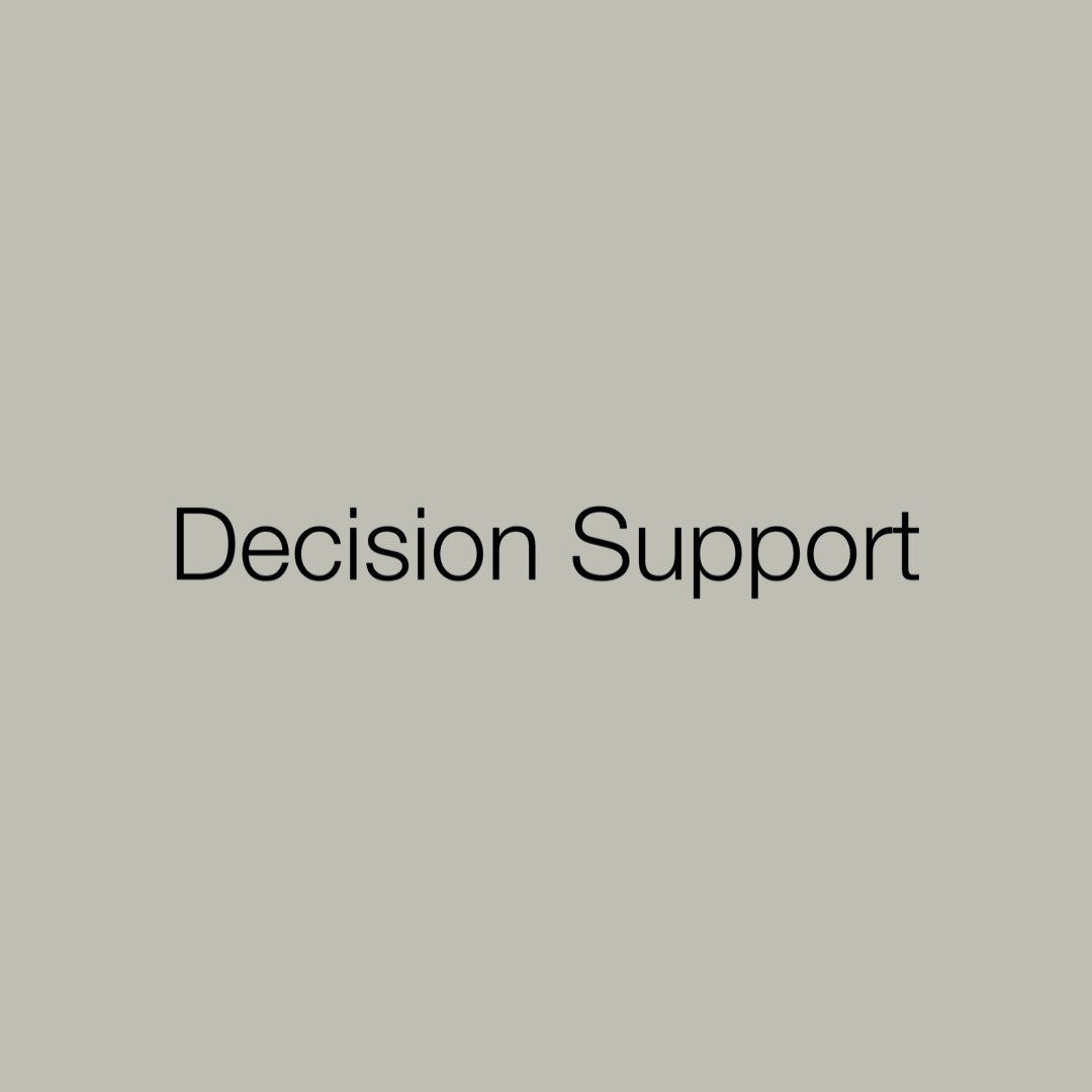 Toolkit: Decision Support