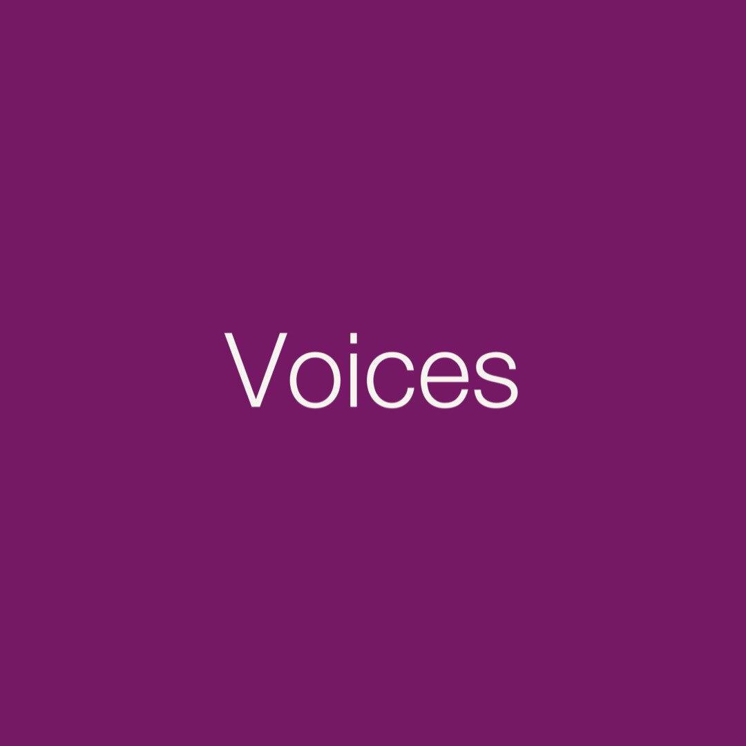 Personal Medicine Cards: Voices