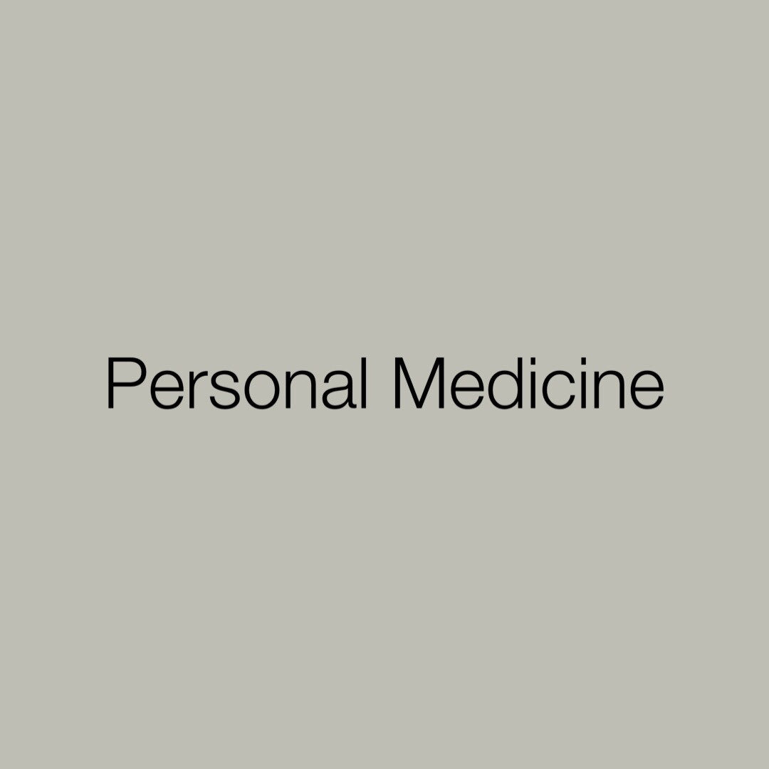 Toolkit: Personal Medicine
