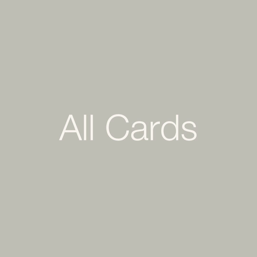 Personal Medicine Cards: All Cards