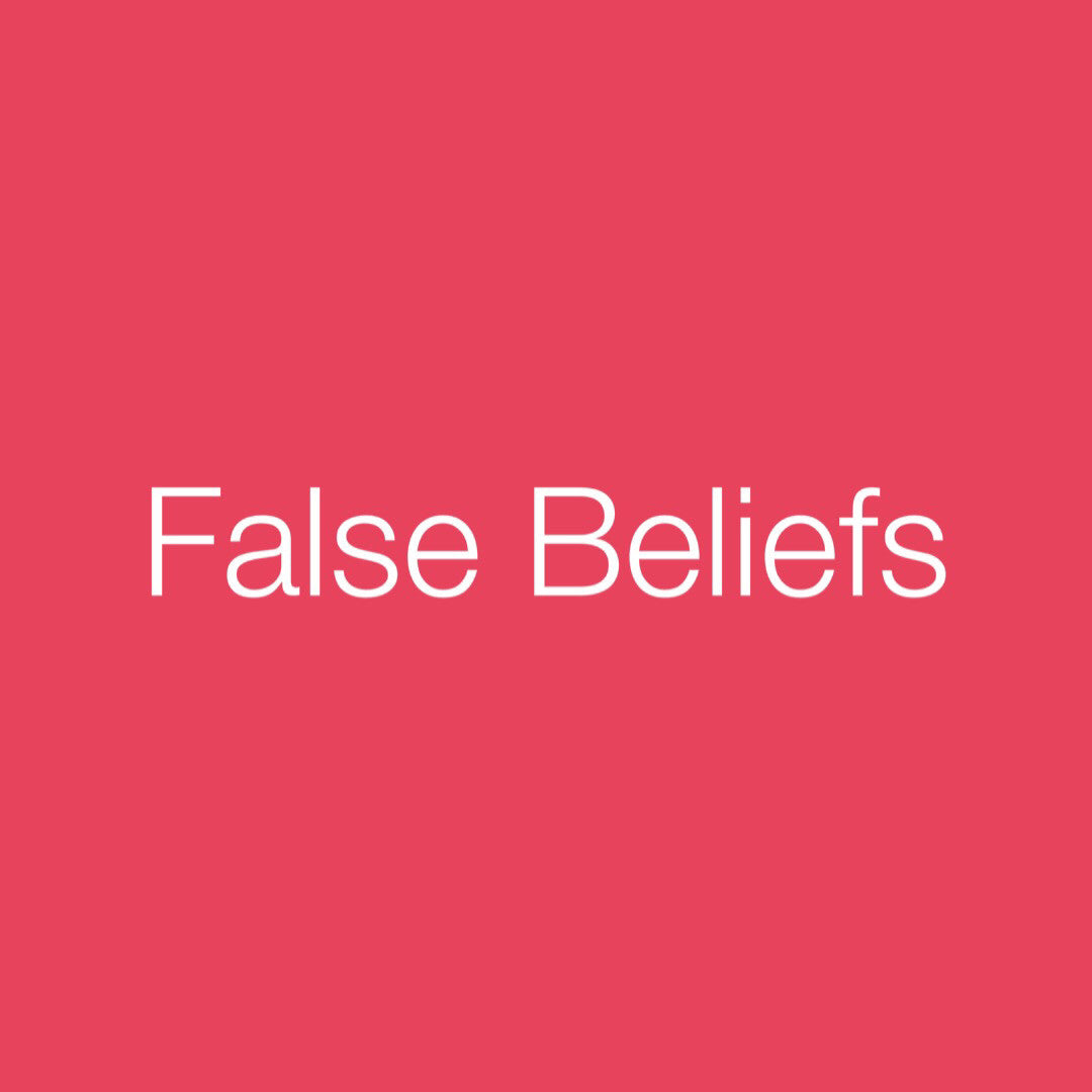 Personal Medicine Cards: False Beliefs