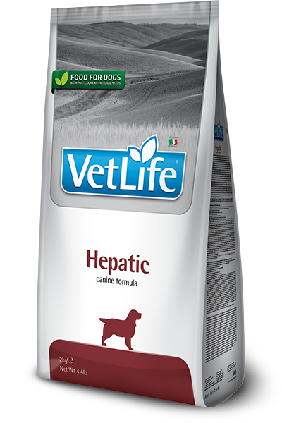 VET LIFE NATURAL DIET DOG HEPATIC