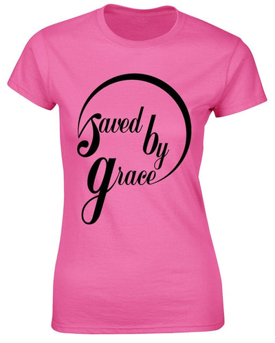 Women T-shirt Saved by Grace