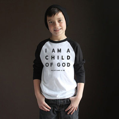 I Am A Child of God Baby & Kids T-Shirt