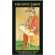 Afbeelding in Gallery-weergave laden, Visconti Tarot - GOLD