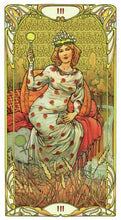 Afbeelding in Gallery-weergave laden, Golden Art Nouveau Tarot - GOLD