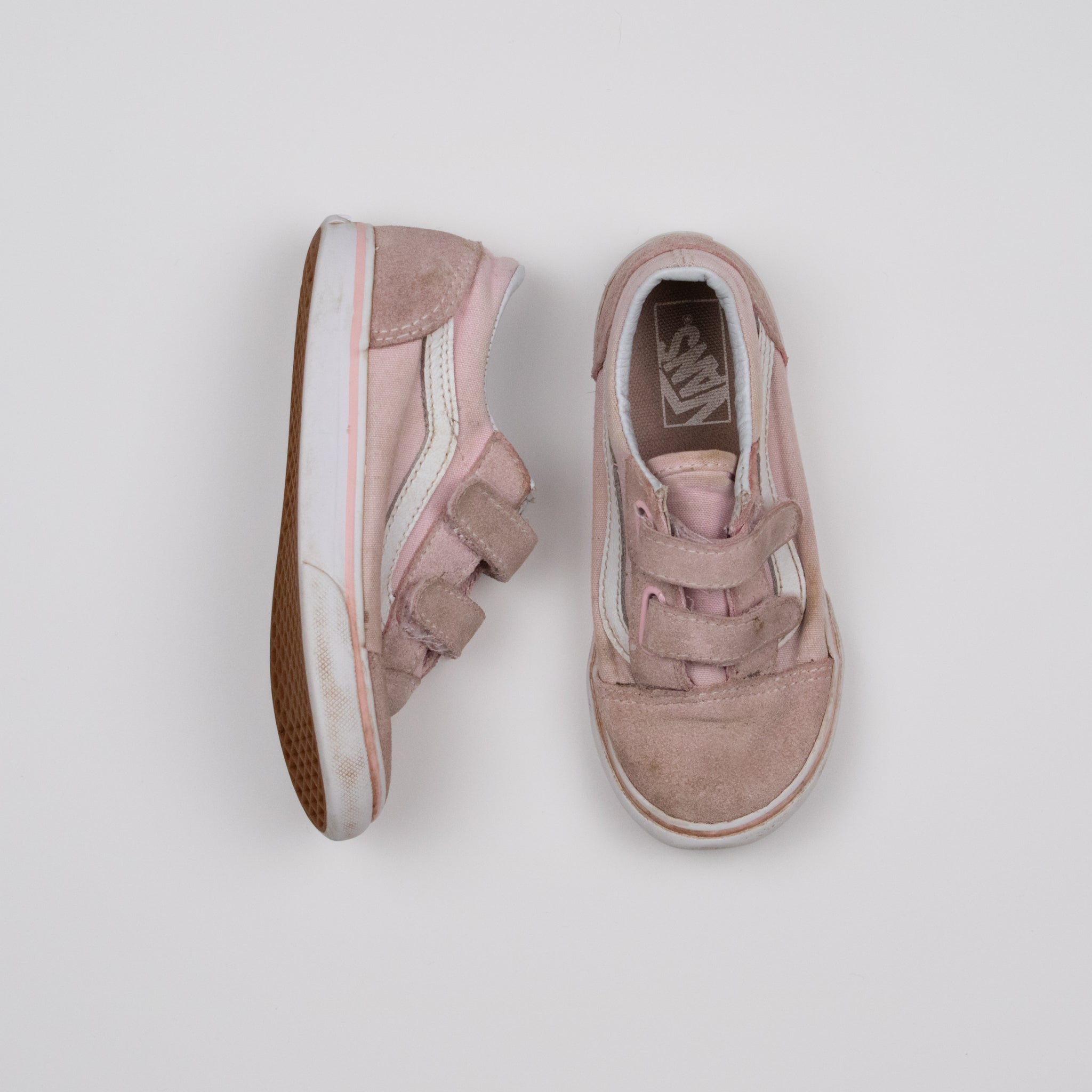 Light Pink Old Skool Sneakers Size 10
