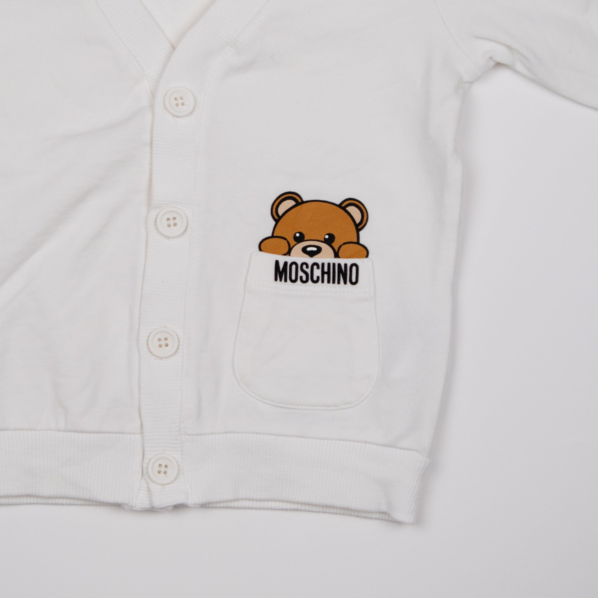 White Bear Cardigan 1-2Y