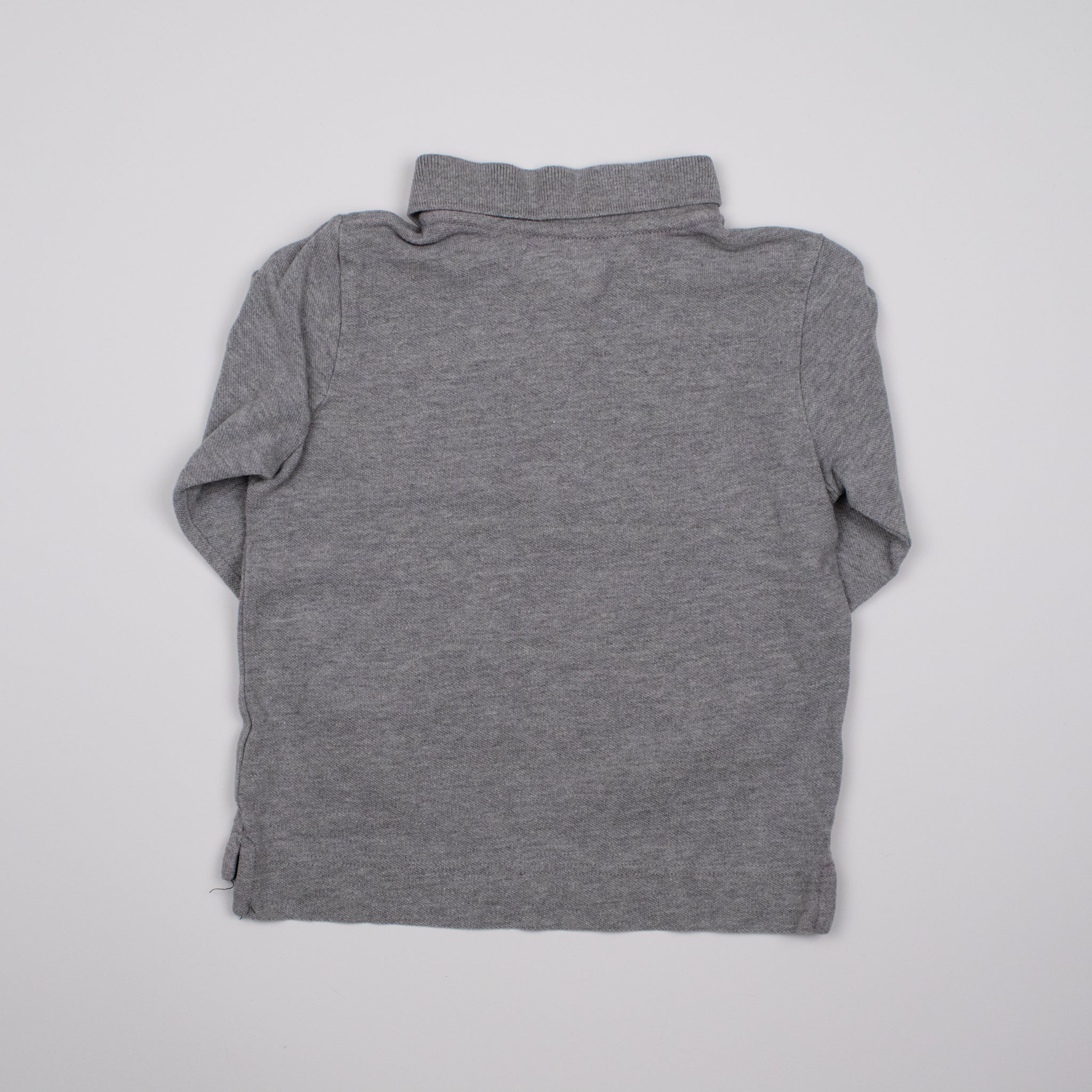 Grey Long Sleeve Tee 4-5Y