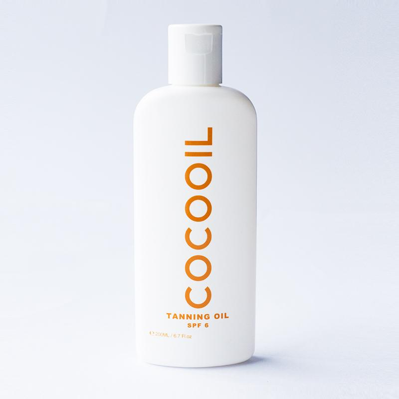 COCOOIL Tanning Oil SPF 6 - GET COCOOIL