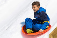 Load image into Gallery viewer, Avalanche Brands Downhill Saucer Snow Sled - Blue 25""