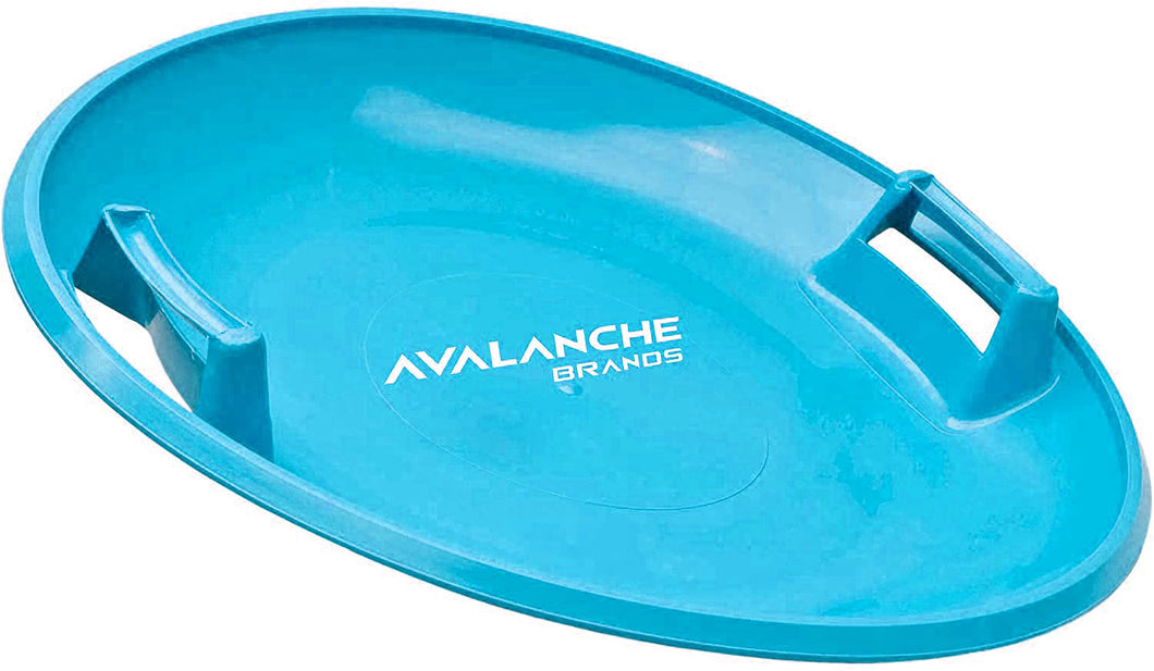 Avalanche Brands Downhill Saucer Snow Sled - Blue 25
