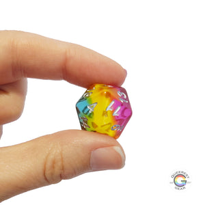 Pansexual D&D Dice