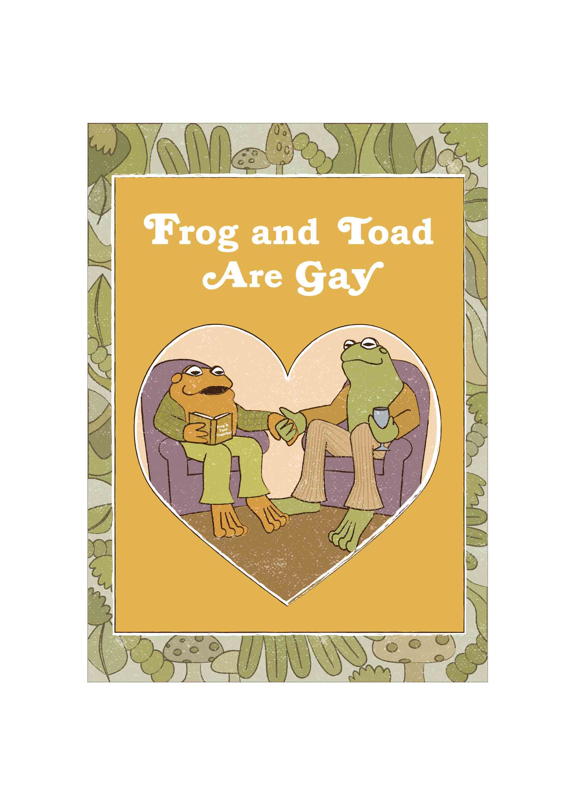 Frog and Toad Are Gay T-Shirt